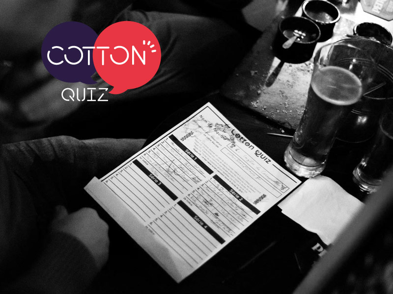 Cotton Quiz La Conciergerie - Labo de Quartier // 07/02/2020